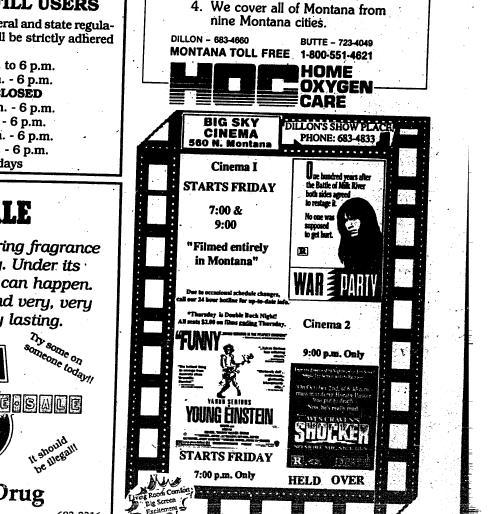 Dillon Tribune (Dillon, Mont ) 1989-current, October 31